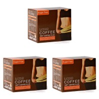 [3 BOX PROMO SET]泰国Beauty Buffet Coffee Diet Slimming减肥咖啡(10 Sachets/Box)